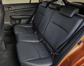 2013 Subaru XV Seat Design, San Francisco, CA