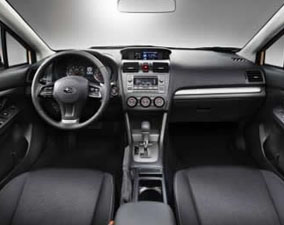 2013 Subaru XV Crosstrek Dashboard View, San Francisco, CA