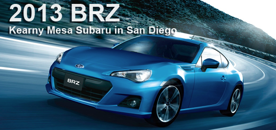 2013 Subaru BRZ for sale soon at Kearny Mesa Subaru in San Diego, California