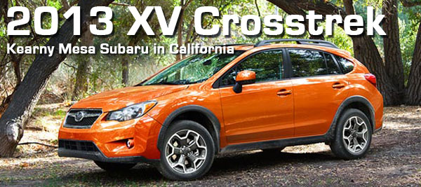 2013 Subaru XV Crosstrek Premium &amp; Limited Models coming to San Diego, CA later this year