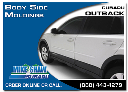 Denver, subaru, body side moldings, outback, accessories, parts, specials