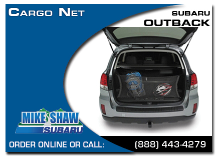 Denver, subaru, cargo net, outback, accessories, parts, specials