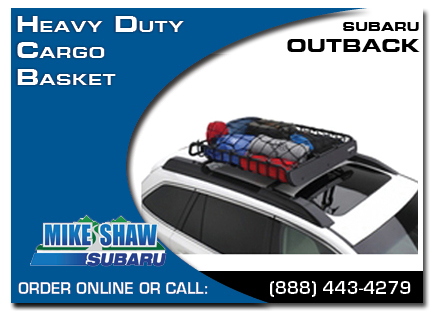 Denver, subaru, heavy duty, cargo basket, outback, accessories, parts, specials