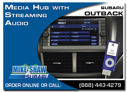 Denver, subaru, media hub, straming audio , outback, accessories, parts, specials