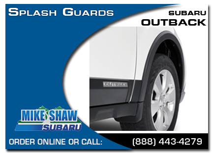 Denver, subaru, splash guards, outback, accessories, parts, specials