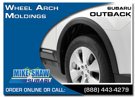 Denver, subaru, wheel moldings, outback, accessories, parts, specials