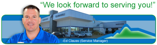 Denver Subaru Service Department for Vehicle Repair & Maintenance Information