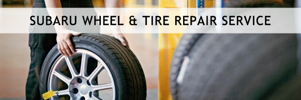 Subaru Tire Repair & Wheel Maintenance Service serving Denver, Colorado