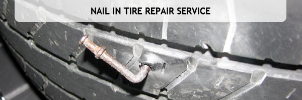 Nail in Tire Repair Service, Denver  Colorado