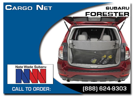Salt Lake City, subaru, cargo net, forester, accessories, parts, specials