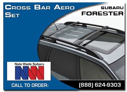 Salt Lake City, subaru, cross bar aero set, forester, accessories, parts, specials