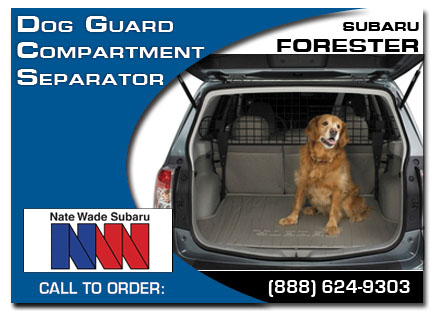Salt Lake City, subaru, dog guard, compartment separator, forester, accessories, parts, specials