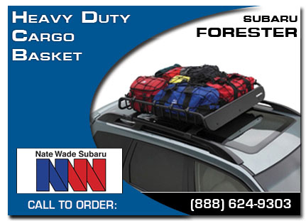 Salt Lake City, subaru, heavy duty, cargo basket, forester, accessories, parts, specials