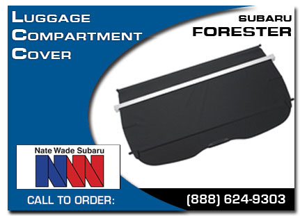 Salt Lake City, subaru, luggage compartment cover, forester, accessories, parts, specials