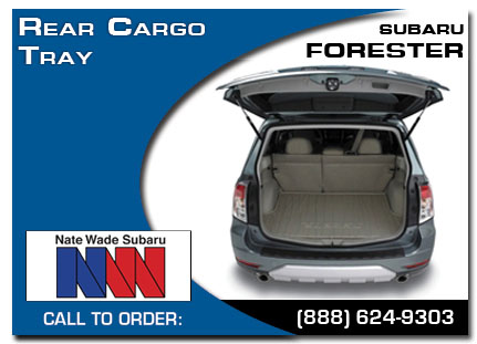 Salt Lake City, subaru, rear cargo tray, forester, accessories, parts, specials