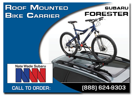 Salt Lake City, subaru, bike carrier, roof mounted, forester, accessories, parts, specials
