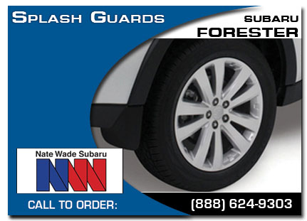 Salt Lake City, subaru, splash guards, forester, accessories, parts, specials