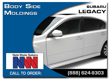 Salt Lake City, subaru, body side moldings, legacy, accessories, parts, specials