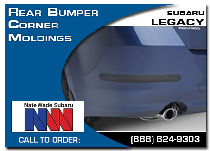 Salt Lake City, subaru, bumper corner moldings, legacy, accessories, parts, specials