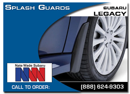 Salt Lake City, subaru, splash guards, legacy, accessories, parts, specials