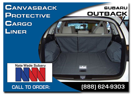 Canvasback Protective Cargo Liner for Subaru Outbacks