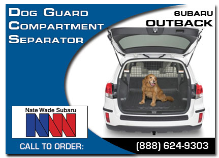 Salt Lake City, subaru, dog guard, compartment separator, outback, accessories, parts, specials