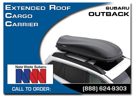 Salt Lake City, subaru, roof cargo carrier, extended, outback, accessories, parts, specials