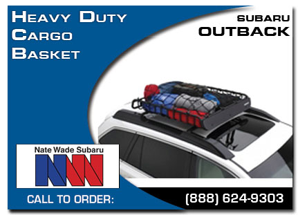 Salt Lake City, subaru, heavy duty, cargo basket, outback, accessories, parts, specials