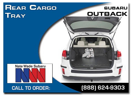 Salt Lake City, subaru, rear cargo tray, outback, accessories, parts, specials