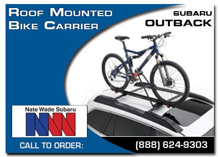 Salt Lake City, subaru, bike carrier, roof mounted, outback, accessories, parts, specials