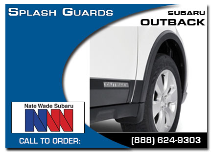 Salt Lake City, subaru, splash guards, outback, accessories, parts, specials