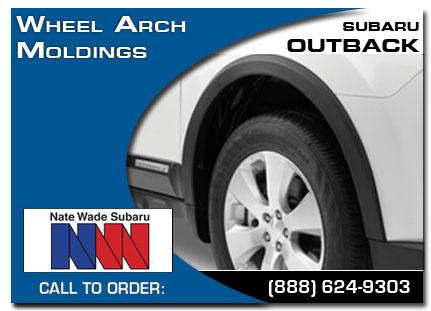 Salt Lake City, subaru, wheel moldings, outback, accessories, parts, specials