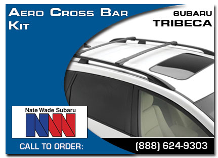 Salt Lake City, subaru, cross bar aero set, tribeca, accessories, parts, specials