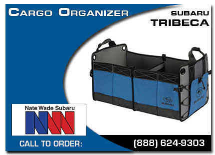 Salt Lake City, subaru, cargo organizer, tribeca, accessories, parts, specials