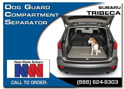 Salt Lake City, subaru, dog guard, compartment separator, tribeca, accessories, parts, specials