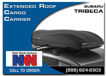 Salt Lake City, subaru, roof cargo carrier, extended, tribeca, accessories, parts, specials