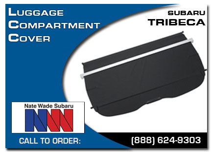 Salt Lake City, subaru, luggage compartment cover, tribeca, accessories, parts, specials