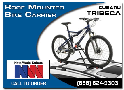 Salt Lake City, subaru, bike carrier, roof mounted, tribeca, accessories, parts, specials