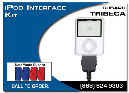 Salt Lake City, subaru, iPod, iPod interface kit, tribeca, accessories, parts, specials