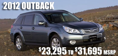 2012 Subaru Outback at Subaru Pacific, Hermosa Beach, Los Angeles, Torrance, Long Beach, Santa Monica, California