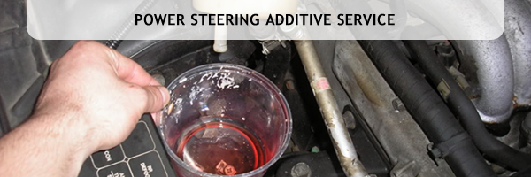 Power Steering Fluid Additive Service, Denver Colorado