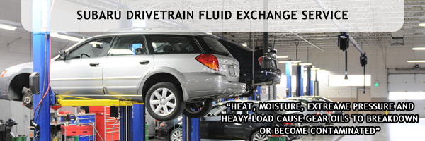 Subaru Drivetrain Fluid Exchange Service at Mike Shaw Subaru serving Denver, CO