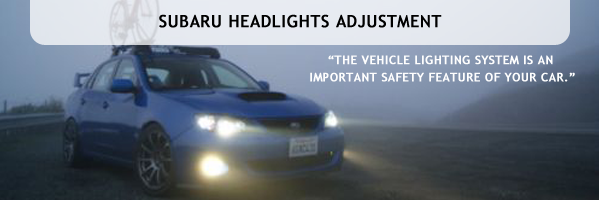 Headlight Adjustment Service serving Denver Colorado, Mike Shaw Subaru, Car Repair & Maintenance
