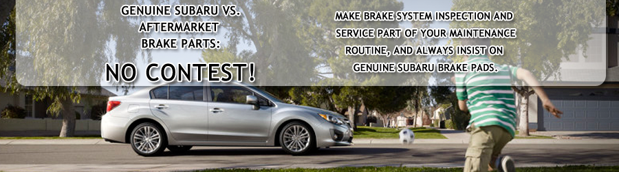 Genuine Subaru Brake Pads & Rotors at Nate Wade Subaru in Salt Lake City, Utah
