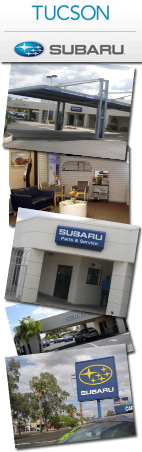 Tucson Subaru New Car Dealership in Southern Arizona