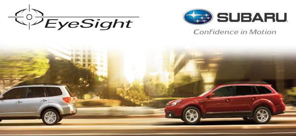 Tucson Subaru EyeSight Driver Assist System Information & Design Specifications