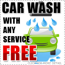 Free Car Wash with any Service at Tucson Subaru
