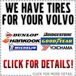 We have Tires for your Volvo Vehicle at Volvo of Tucson in Arizona