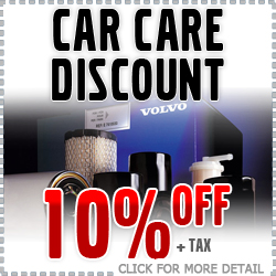 Car Care Month Volvo Parts & Accessories Discount Coupon serving Tucson, Arizona