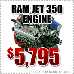Chevrolet Ram Jet 350 Small Block Engine Sale Special, Portland, Oregon